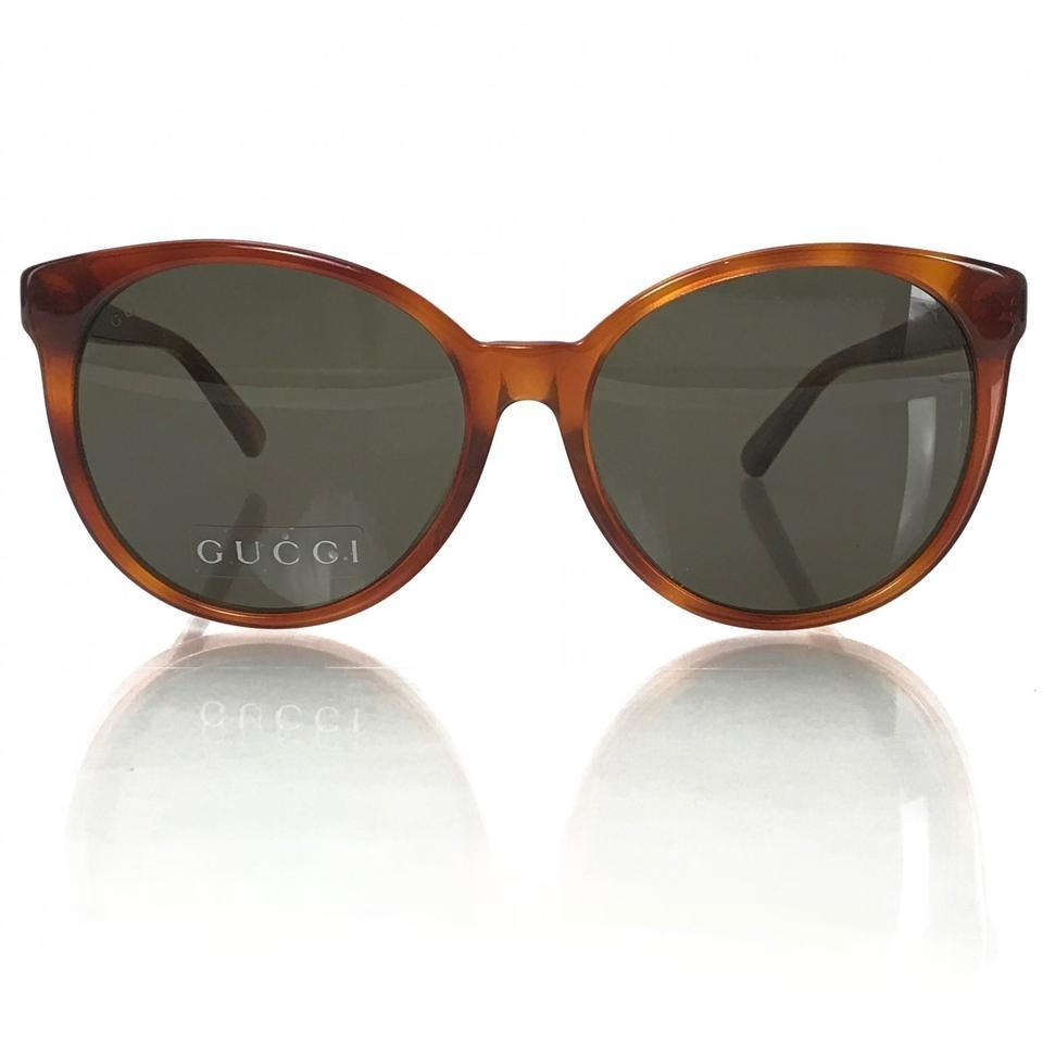 85d4535104 Gucci Multicolor 434093 Women s Cat Eye Frame Acetate Sunglasses ...