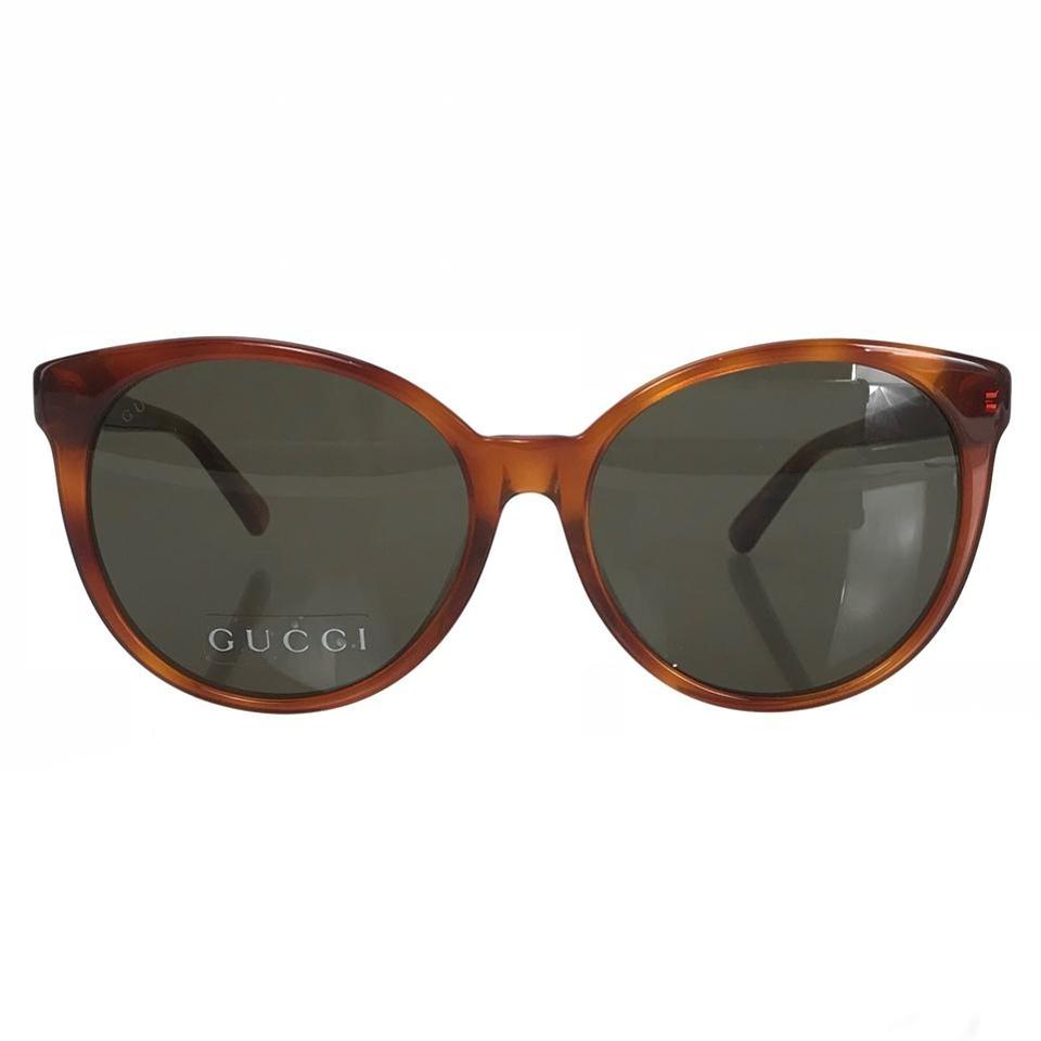 b99e7964363 Gucci GUCCI 434093 Women s Cat Eye Frame Acetate Sunglasses Image 8.  123456789