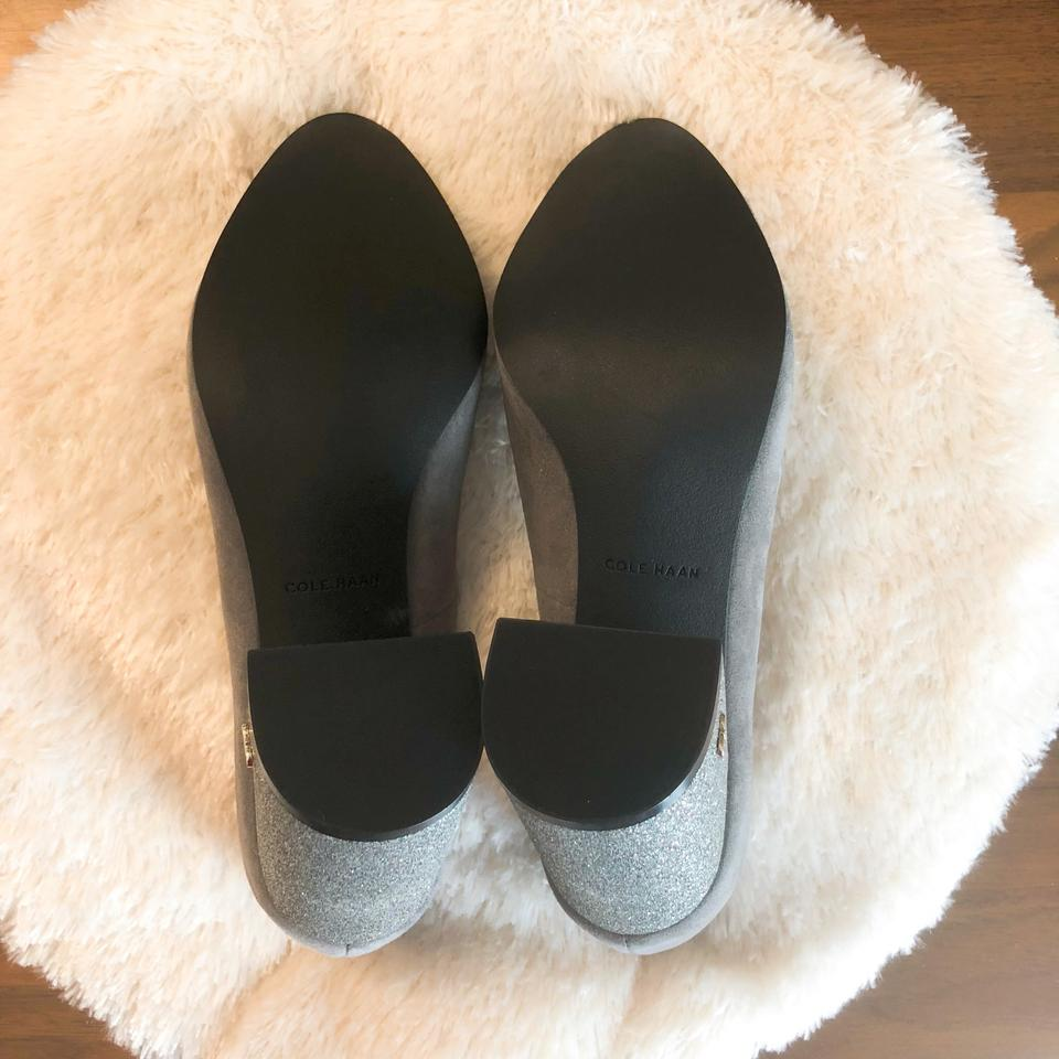 4e18fde6ba1 Cole Haan Grey Alanna 85mm Ii Pumps Size US 8.5 Regular (M