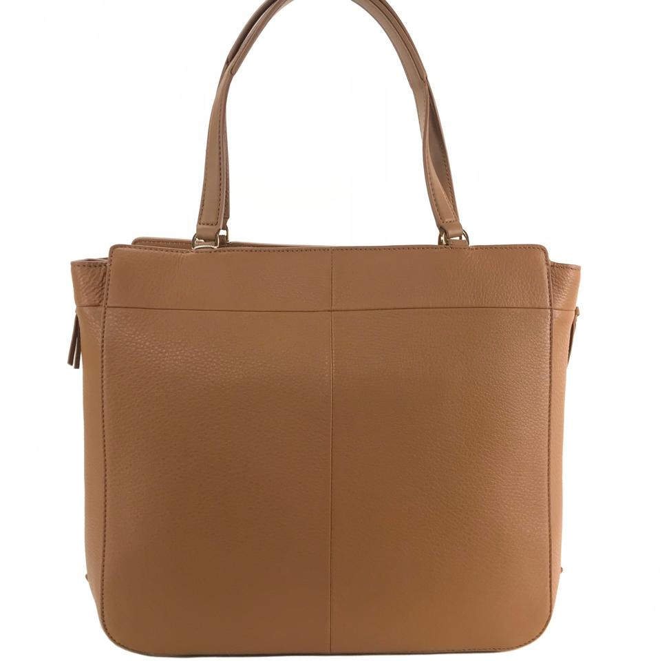 Expandable Leather Tote zip Burch Ivy Tory Bark Side WHwCIzPZZq