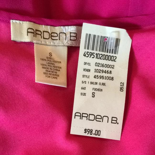 Arden B. short dress Fuchsia on Tradesy