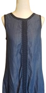 Max Jeans short dress Blue on Tradesy