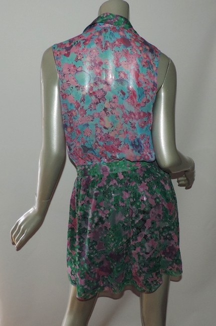 Gryphon short dress multicolor floral Mimi on Tradesy Image 1