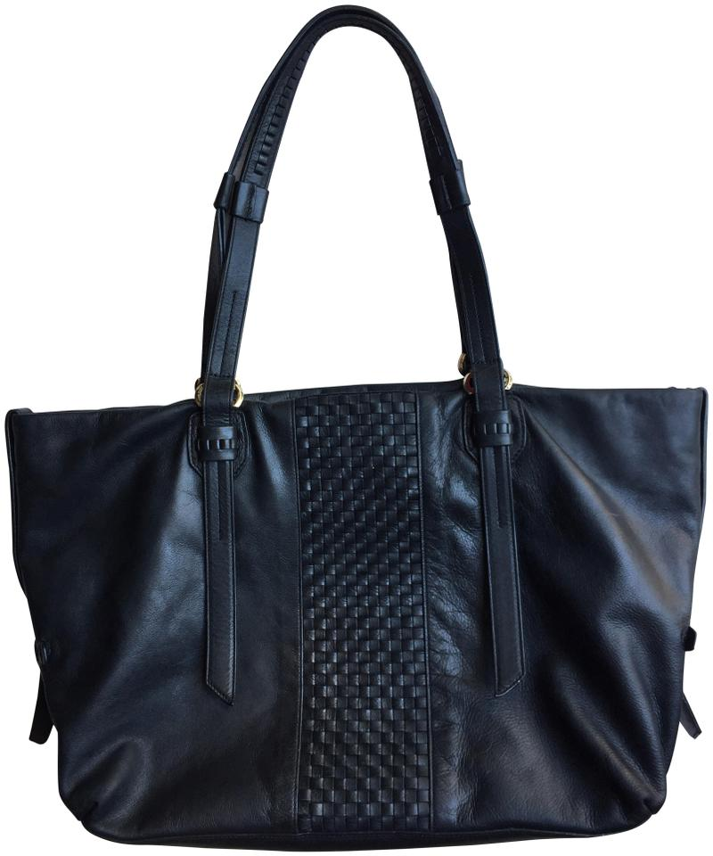 Haan Cole Tote Black Leather Brannan Oqga6
