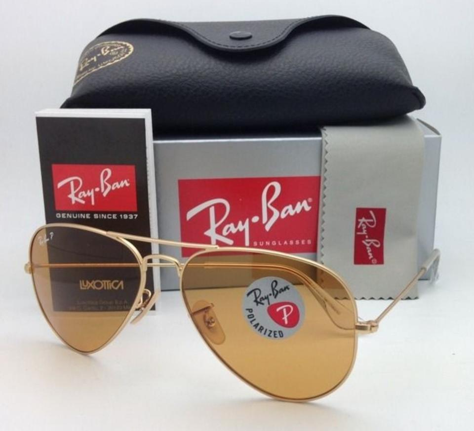 51969726d1c Ray-Ban Polarized Ray-Ban Sunglasses RB 3025 Large Metal 112 O6 Gold ...