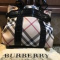 Burberry Tote in Check Coated Image 11