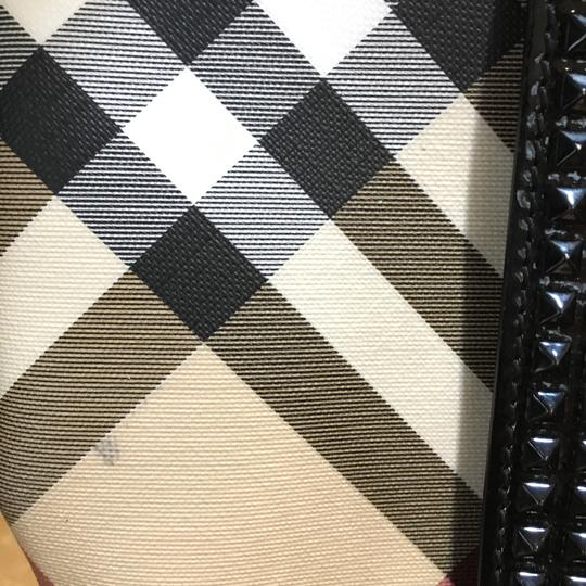 Burberry Tote in Check Coated Image 9