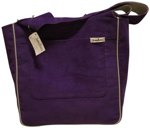 Neiman Marcus Corduroy Shopper Bags Logo Tote in Purple