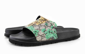 Gucci * Bengal Tiger Slippers Shoes