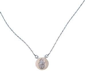 CasaDiBling .925 Sterling silver Hamsa pendant necklace