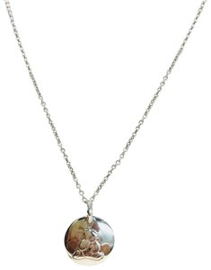 Christofle 925 silver bear pendant necklace