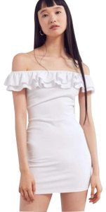 Silence + Noise Boho Summmer Spring Offtheshoulder Ruffle Dress
