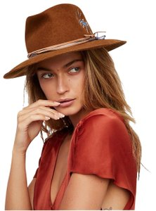 Free People Visionary Embroidered Felt Hat