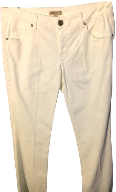 Item - White Baby Boot Cut Jeans Size 33 (10, M)