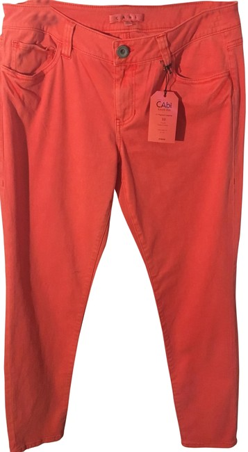 Preload https://img-static.tradesy.com/item/23739397/cabi-pigment-lobster-jeggings-size-33-10-m-0-1-650-650.jpg