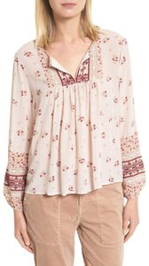 7758b251e2a21 Joie Misty Lilac Adorlee Cold Shoulder Blouse Size 4 (S) - Tradesy