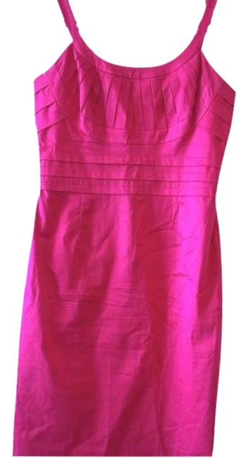 Item - Hot Pink Sleeveless Cotton Mid-length Night Out Dress Size 6 (S)