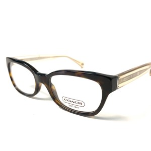 8aaede9a44b Coach Coach Tortoise Eyeglasses With Crystal Gold Temples New Authentic