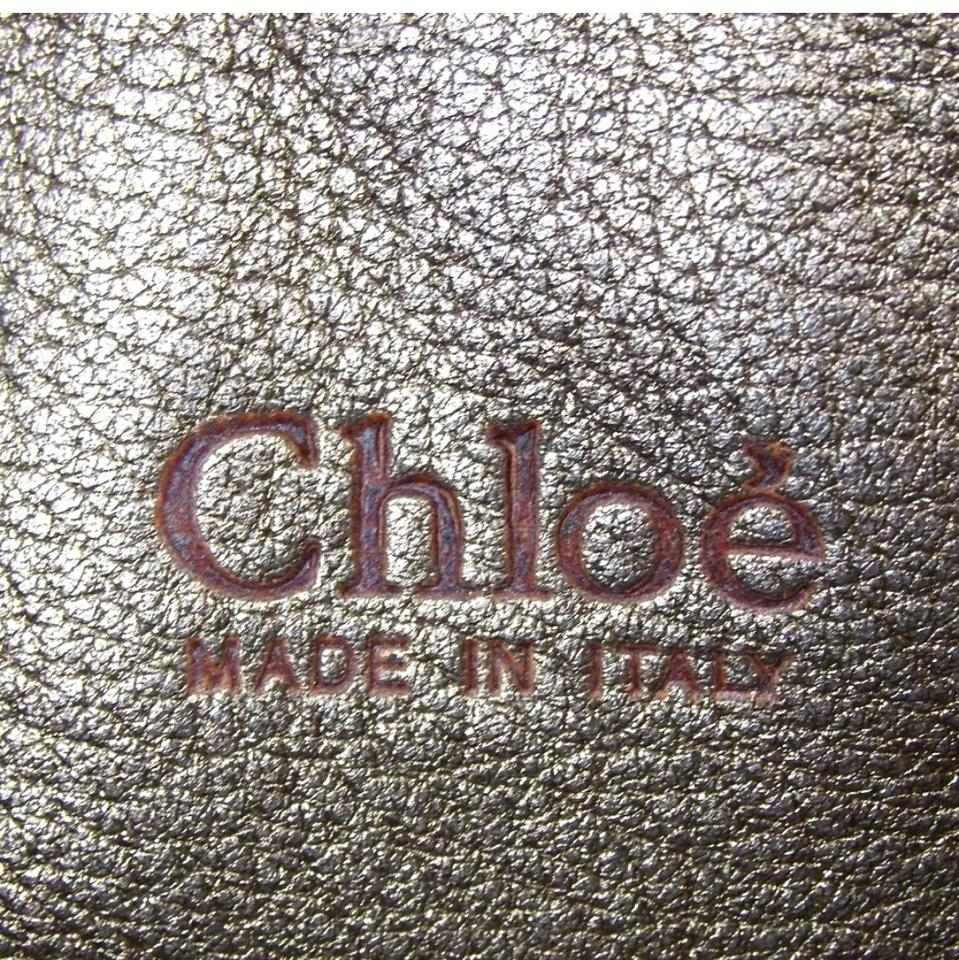 Leather Satchel Gold Leather Chloé Leather Chloé Satchel Gold Chloé xgfw8n