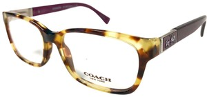 Coach Coach Spotty Tortoise with Purple Eyeglasses New Authentic
