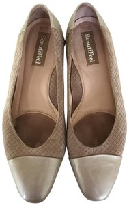 BeautiFeel Comfortable Tan Beige low heeled Pumps