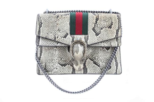 Gucci Shoulder Dionysus Natural Multicolor Python Skin Leather Cross Body Bag Gucci Shoulder Dionysus Natural Multicolor Python Skin Leather Cross Body Bag Image 1