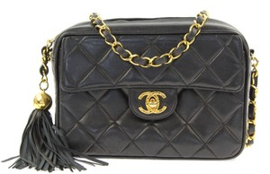 Chanel Quilted Tassel Shoulder Bag