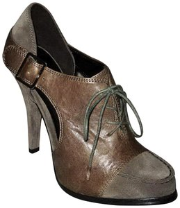 Elizabeth and James New Casi Lace Size 8.5 Olive Brown Boots