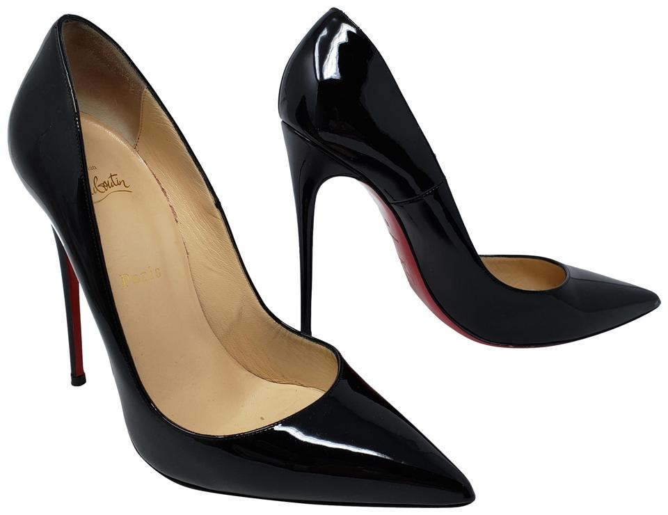 2fad98bd2cbf Christian Louboutin Black Patent Leather So Kate Pumps Size EU 40 ...