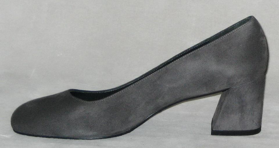 4d8f4b4fe810 Stuart Weitzman New Marymid Suede Size 9 Gray Pumps Image 6. 1234567