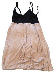 Guess short dress black and beige on Tradesy