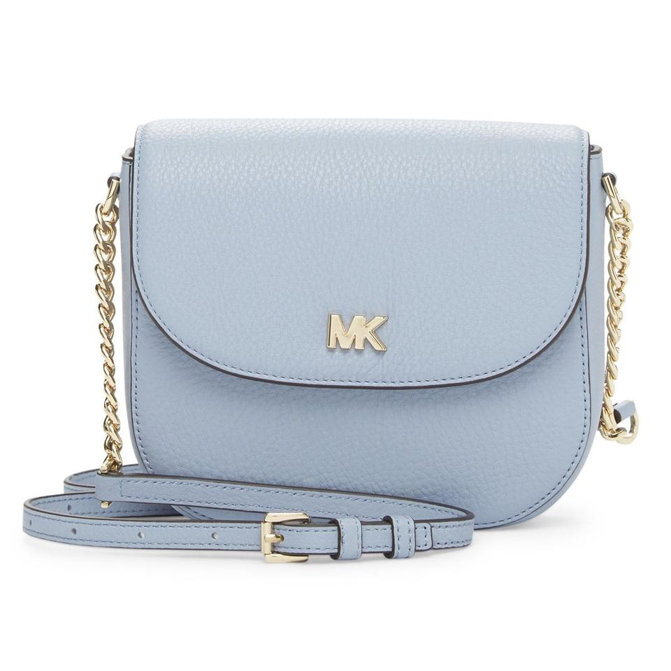 164364fed44ec0 Michael Kors Novelty Rainbow Iridescent Sparkle Silver Cross Body Bag Image  0 ...