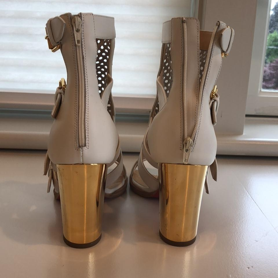Fencing Louboutin Christian Pumps White 85 q1wnfxPAz
