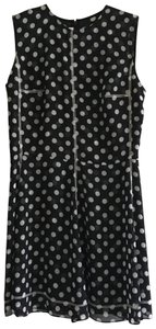 MCQ by Alexander McQueen short dress black with white polka dots on Tradesy