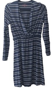 Vineyard Vines short dress Blue & White Cotton Nautical Striped on Tradesy