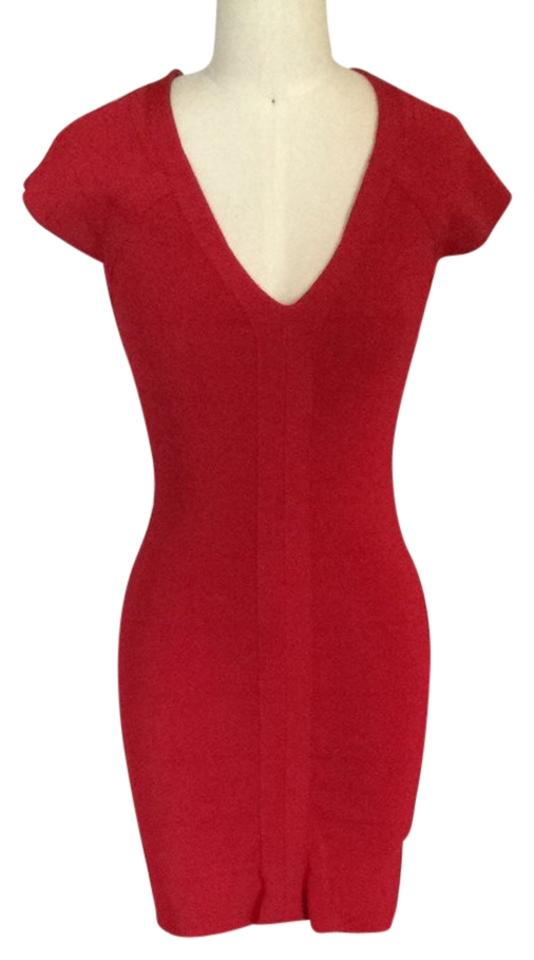 Express Red Cocktail Dress Size 6 (S) - Tradesy