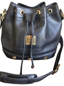 Mcm Leather Shoulder Cross Body Bag