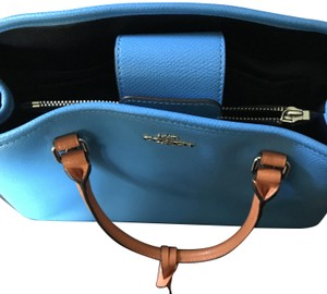 Coach Purse Leather Tote in Blue