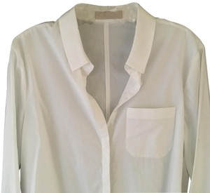 Stefanel Button Down Shirt White