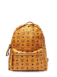 MCM Stark Medium Coated Canvas Backpack