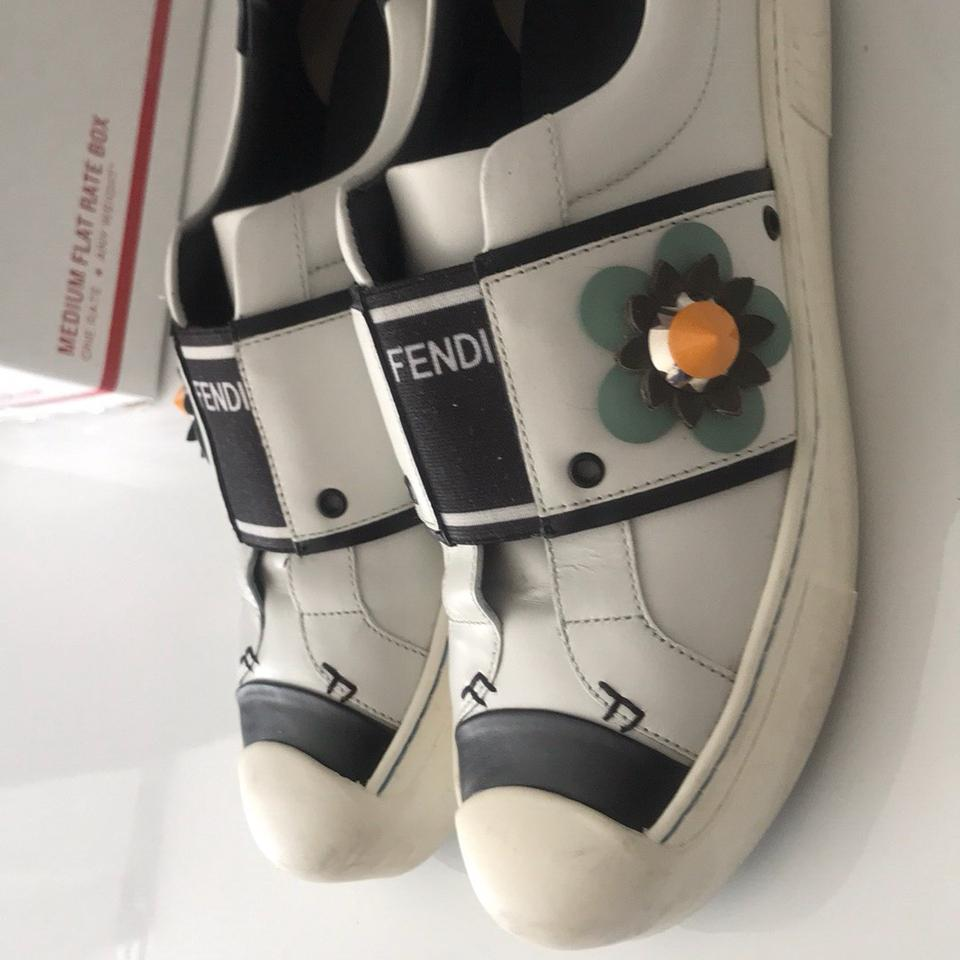 Sneakers Worn Flats Fendi Worn Fendi Sneakers Once q8SP7tqnd