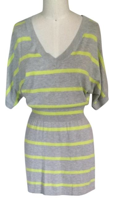 Preload https://item3.tradesy.com/images/express-grey-tunic-size-6-s-2374402-0-0.jpg?width=400&height=650