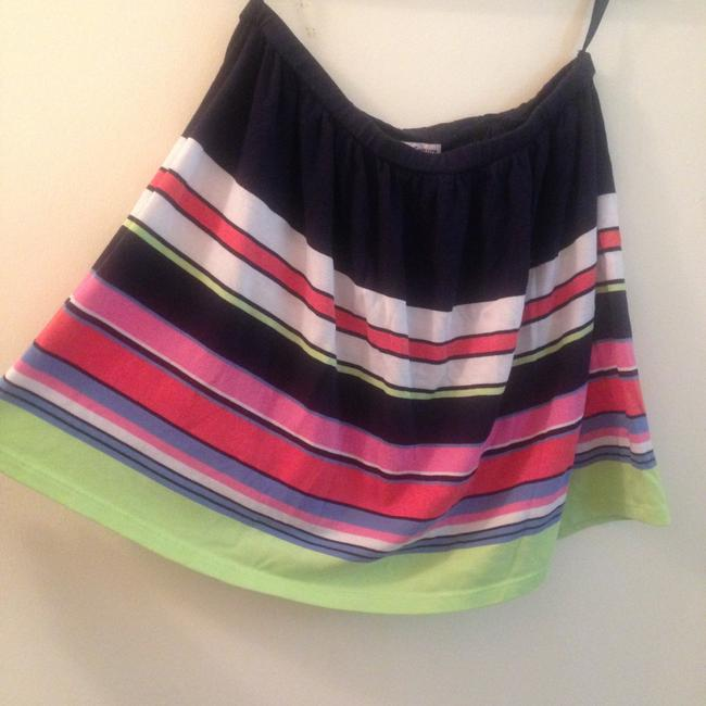 Juicy Couture Flowy Spring Mini Skirt Multicolor