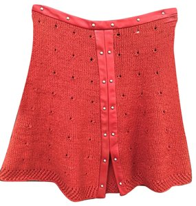 Magda Butrym Mini Skirt red