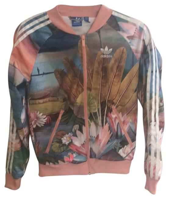 Item - Multi-colored Curso Track Jacket Activewear Size 0 (XS)