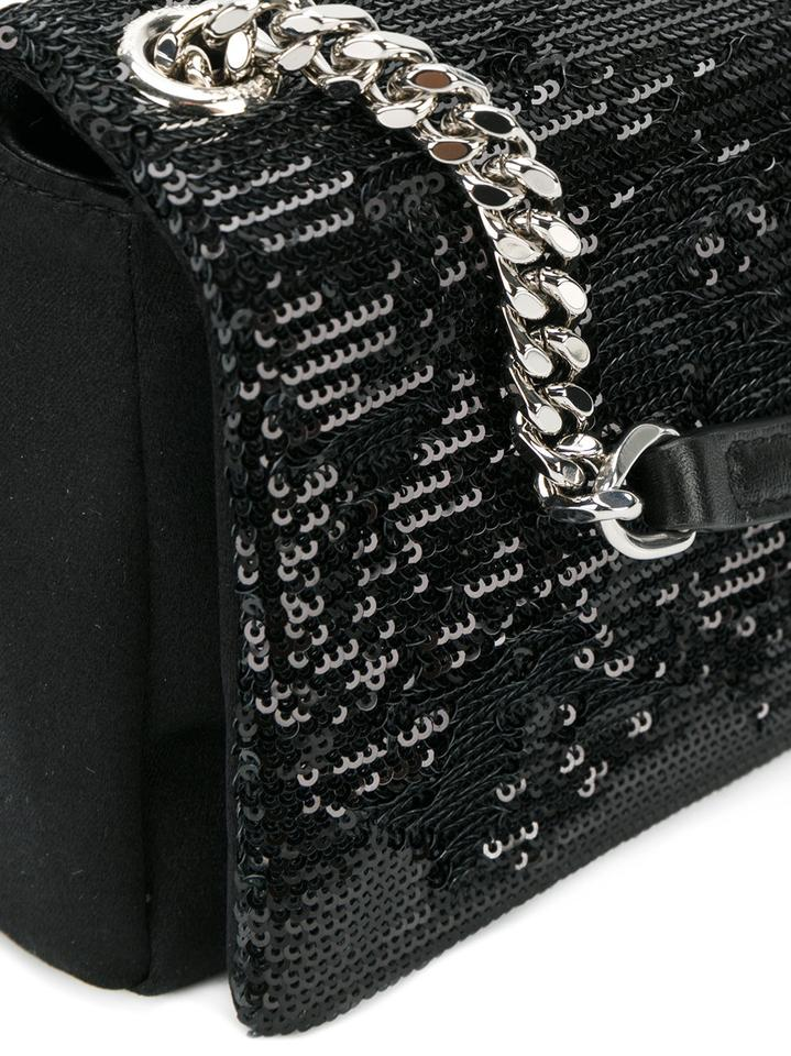 Bag Chain Laurent Cross Satin Body Black Saint Wallet West Toy Hollywood wqPxUSBv