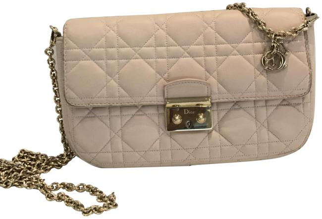 Item - Lamb Cannage Miss Pink Leather Cross Body Bag