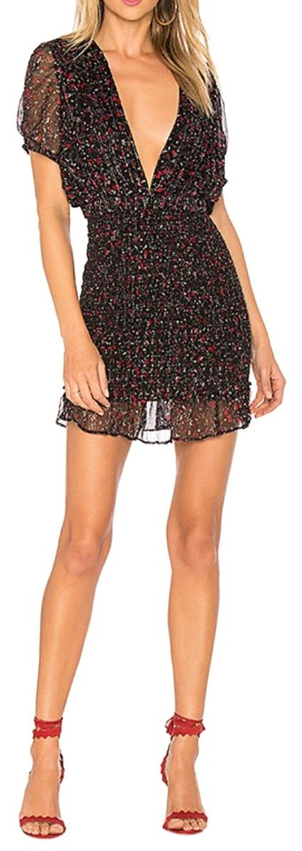 9f42df29214f8 Free People Multy Color Baby Love Bodycon Short Night Out Dress Size ...