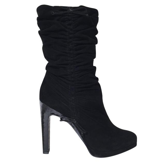 Item - Rare Tom Ford Era Snakeskin Suede Famous Ad Campagn Boots/Booties Size EU 36.5 (Approx. US 6.5) Wide (C, D)