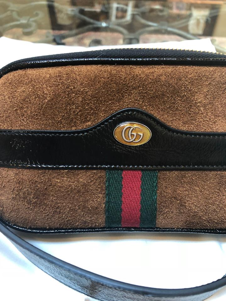 6a7a3b9f607f0d Gucci Ophidia Small Beltbag Chestnut Suede Leather Messenger Bag - Tradesy